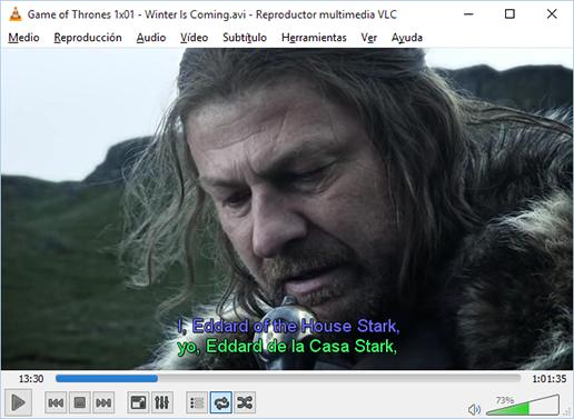 windows 10 video player subtitles